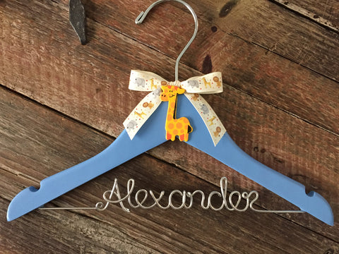 Baby Hanger / Children's Personalized Hanger / Kids Hanger / Boy Hanger / Baby Shower Gift- DESIGN YOUR OWN