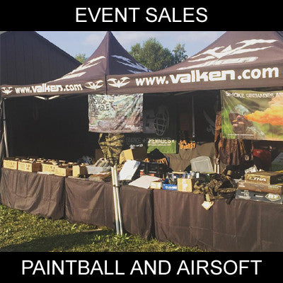Event Sales - Paintball and Airsoft