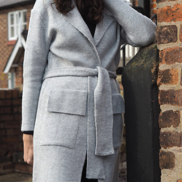 Goose Grey Coatigan Cardigan Coat