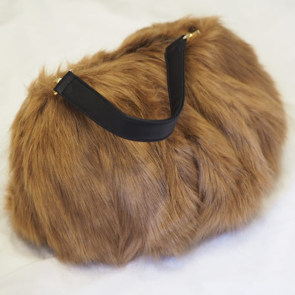 Mink Faux Fur Bag