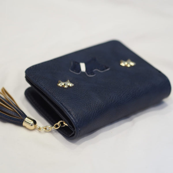 Navy Mini Scottie Dog Purse Radley Inspired
