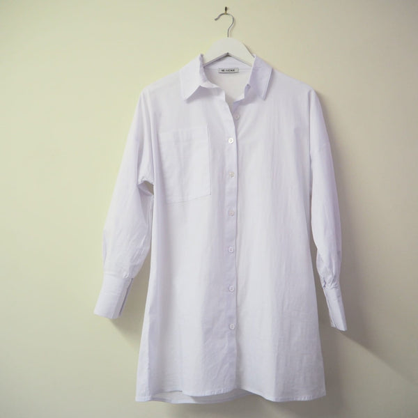 Classic Cotton Long sleeve white shirt
