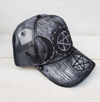 Triple Goddess Occult Snapback Hat