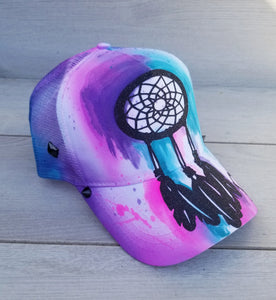 Dreamer Airbrushed Snapback Hat