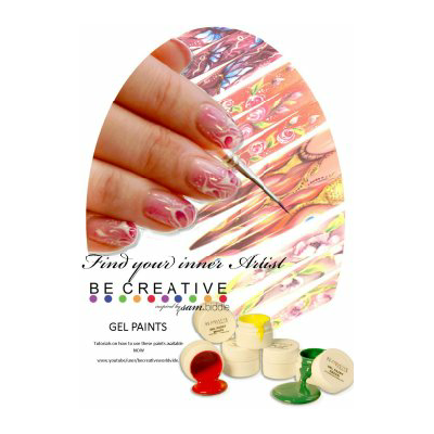 Gel Paint Nail Design DVD  -  Be Creative - Be Creative South Africa
