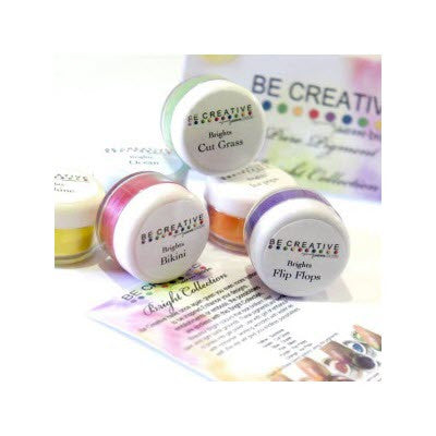 Pure Bright Pigment Kits  -  Be Creative - Be Creative South Africa