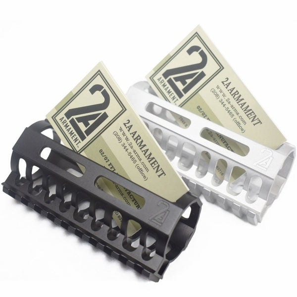 Tactical Business Card holder ar15 rail mlok 2a armament
