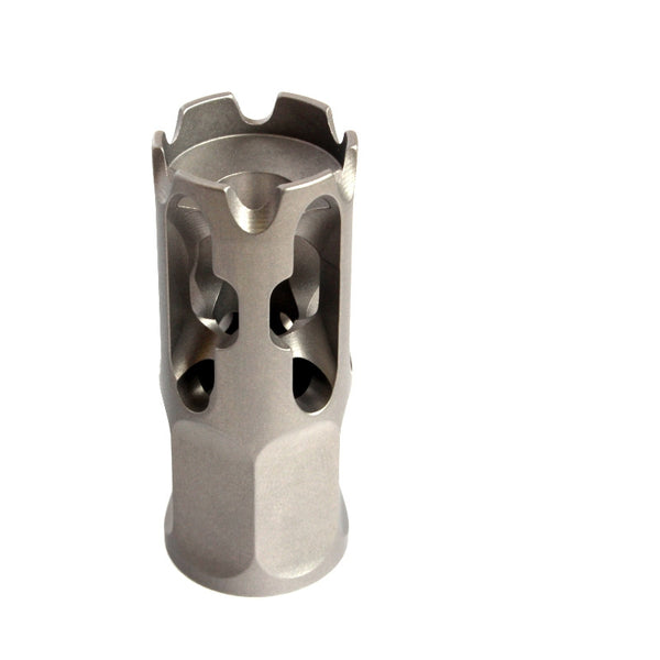 7.62mm/.308/.300BLK AR10  Compensator Titanium Lightweight top