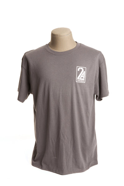 2A Armament Logo T-Shirt Grey Front