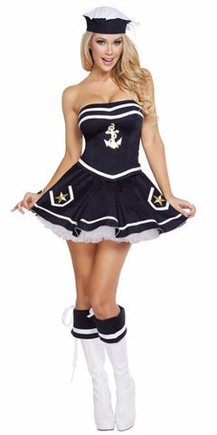 Sexy Navy Girl Halloween Costumes & Sexy Sailor Girl Halloween Costumes