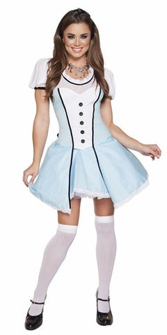sexy halloween costume alice wonderland costume