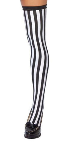 Sexy Sporty Referee Stockings Halloween Accessory - Musotica.com
