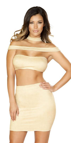 Sexy Ibiza High Waisted Strappy Cutout Dress with Zipper Closure