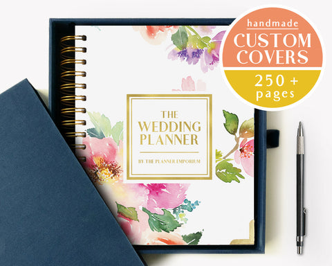 The Wedding Planner | Watercolor Floral Design | The Planner Emporium