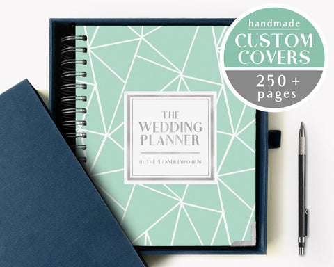 The Wedding Planner | Geometric Mint Design | The Planner Emporium