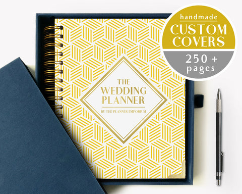 The Wedding Planner | Golden Cubes Design | The Planner Emporium