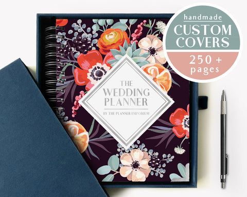 The Wedding Planner | Dark Succulent Design | The Planner Emporium