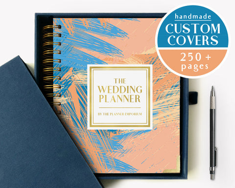 The Wedding Planner | Pastel Paintstrokes Design | The Planner Emporium
