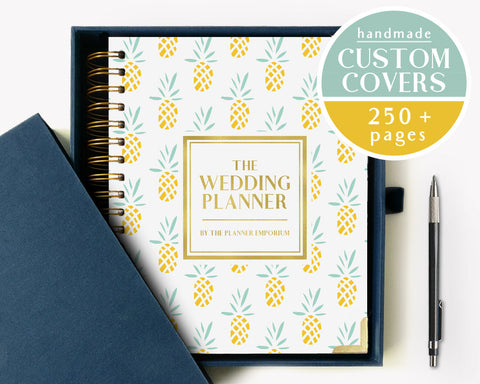 The Wedding Planner | Trendy Pineapple Design | The Planner Emporium