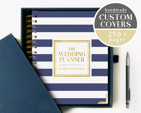The Wedding Planner | Classic Navy Stripes Design | The Planner Emporium