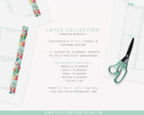 A5 Basics Bundle | LAYLA Collection - The Planner Emporium - 2