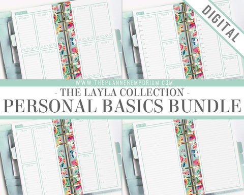 Personal Basics Bundle | LAYLA Collection - The Planner Emporium - 1