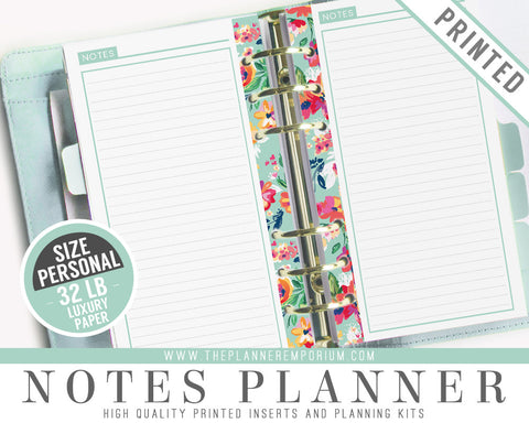 Personal Notes Planner Inserts | LAYLA Collection - The Planner Emporium - 1