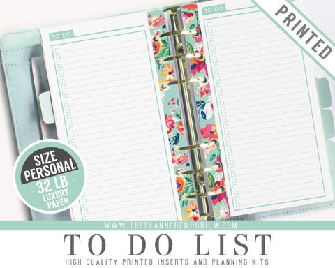 Personal To Do List Inserts | LAYLA Collection - The Planner Emporium - 1
