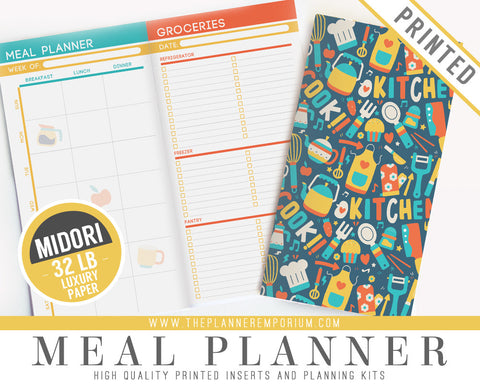 Midori Meal Planner Inserts | LIFESTYLE Collection - The Planner Emporium - 1