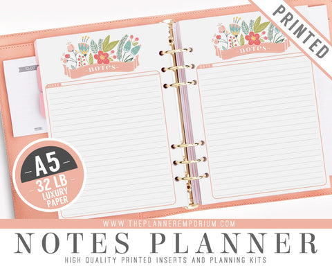 A5 Notes Planner Inserts | ROSA Collection - The Planner Emporium - 1