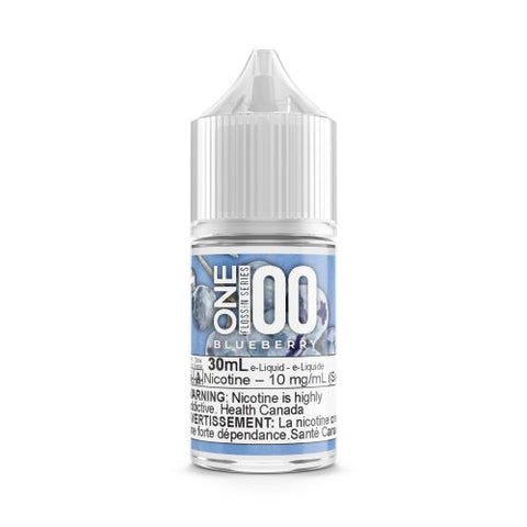 One 100 Salts – Flossin Series – Blueberry