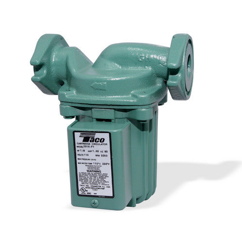 central boiler taco 0014 f1 circulator pump 1 8 hp 115v wood taco 0014 f1 circulator pump 1 8 hp 115v