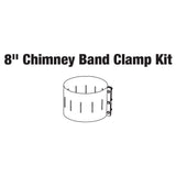 8'' Chimney Band Clamp for Central Boiler Double Wall Pipe
