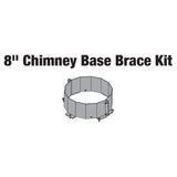 "8"" Chimney Base Bracket Kit"