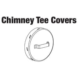 CHIMNEY TEE COVER,W/HANDLE 8""