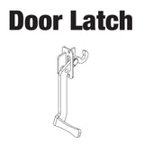 WELD,LATCH,DOOR,#4196 BTL GRN,M175GN