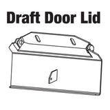 Draft Door Lid Replacement Kit, Classic Boilers, 4030, 5036, 6048