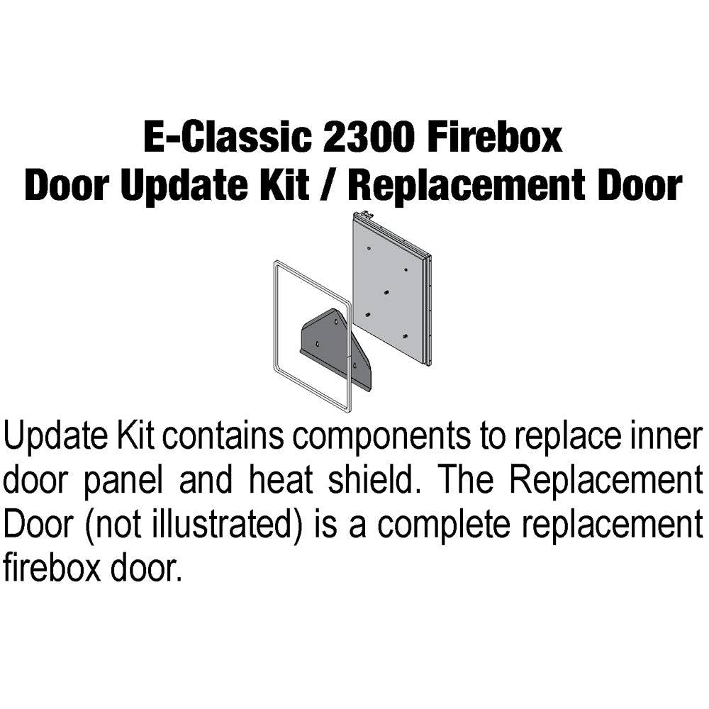 Central Boiler Replacement Door Assembly 610 EClassic 2300