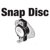 SNAP DISC,HI LIMIT,225F/185F,MAX