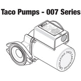 Taco 007-ZF5-9 Priority Zoning Circulator Pump 1/25 HP, 115V