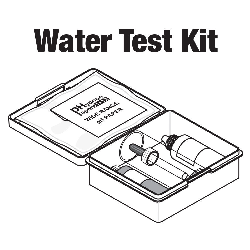 central boiler water test kit  complete  for water without