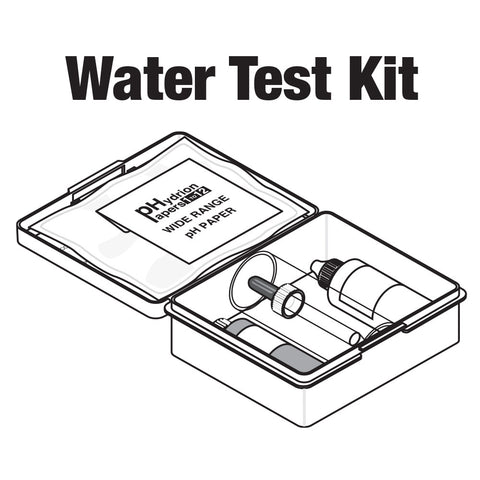 Central Boiler Water Test Kit (Complete, for water without