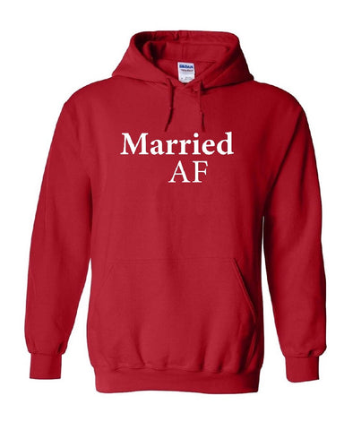 Married AF Men's Hoodies