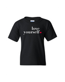Love Yourself Youth Crew Neck Tee