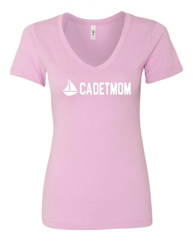 Sea Cadet Mom V-Neck Tee