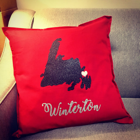 Newfoundland Hometown Pride Pillow Cover