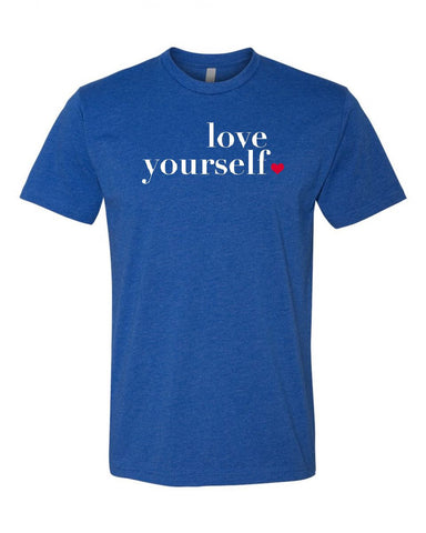 Love Yourself Men's Crew Neck Tee