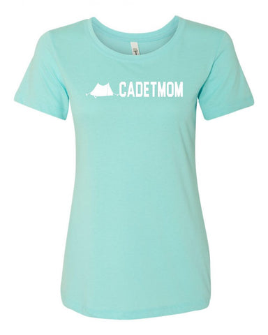 Army Cadet Mom Crew Neck Tee