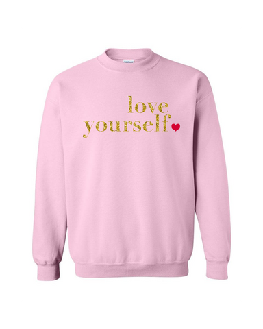 Love Yourself Ladies Sweater