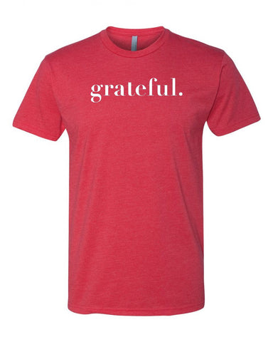 Grateful Men's Crew Neck Tee